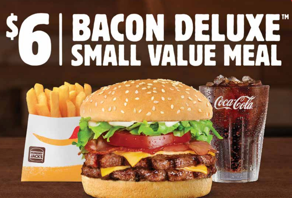 Hungry Jacks Vouchers & Coupons